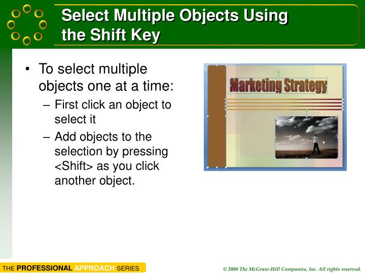 Select Multiple Objects Using