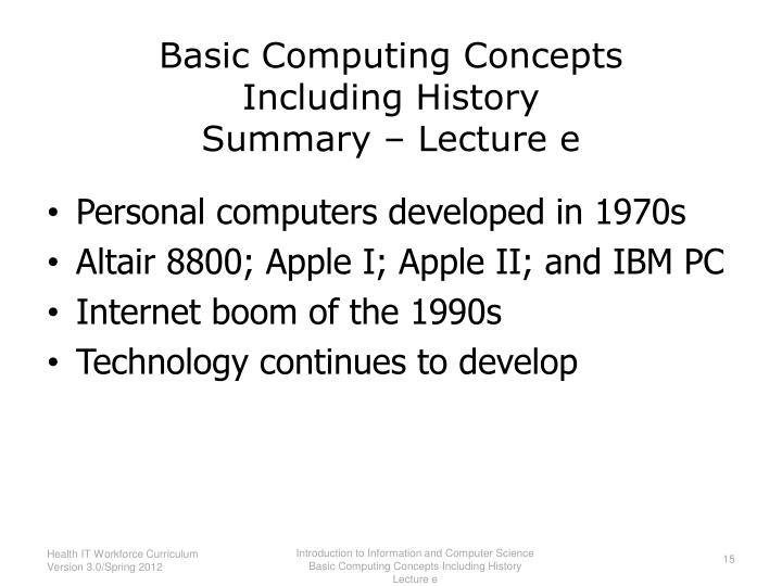 basic computer science concepts pdf