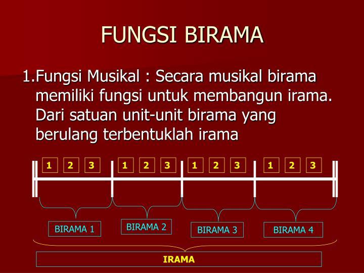 FUNGSI BIRAMA