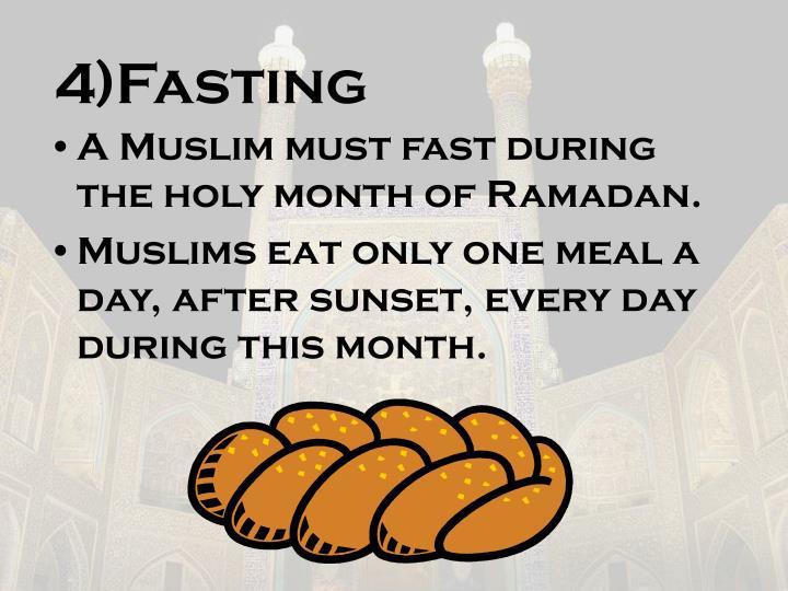 4)Fasting
