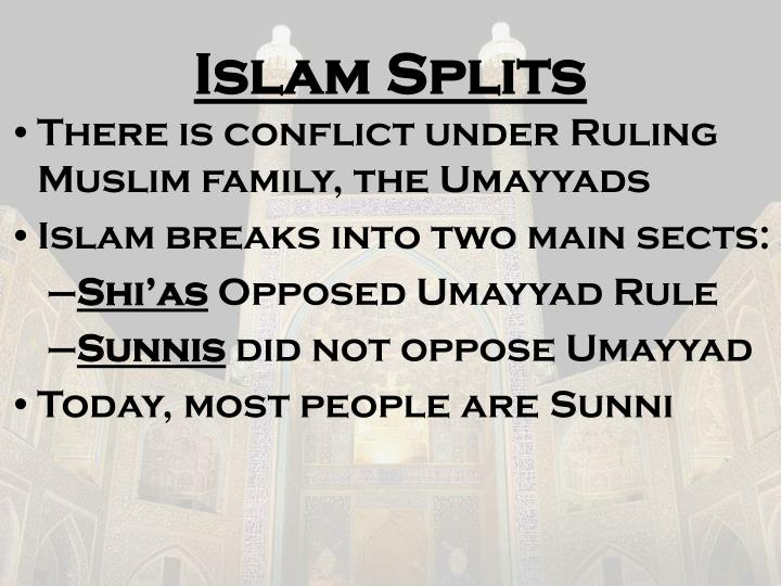 Islam Splits