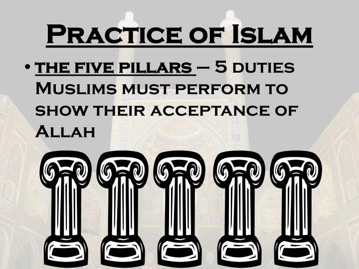 Practice of Islam
