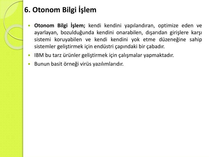6. Otonom