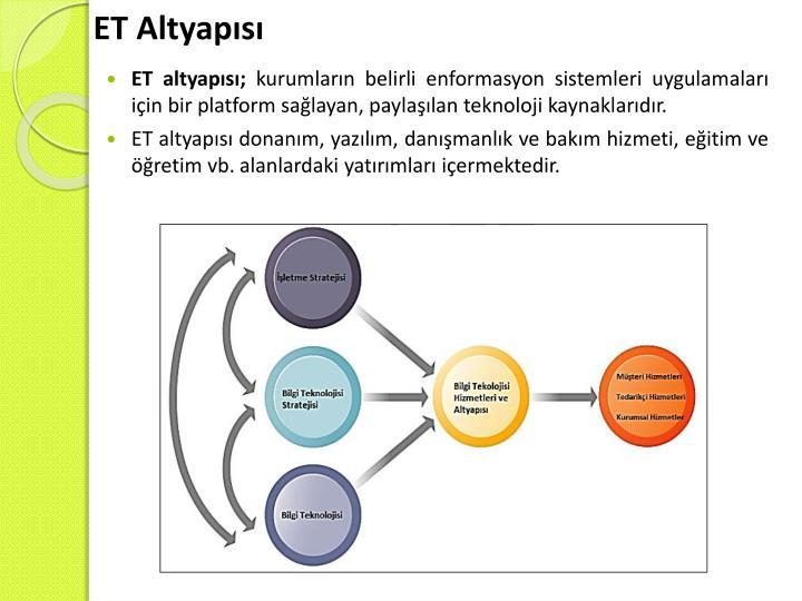 ET Altyapısı