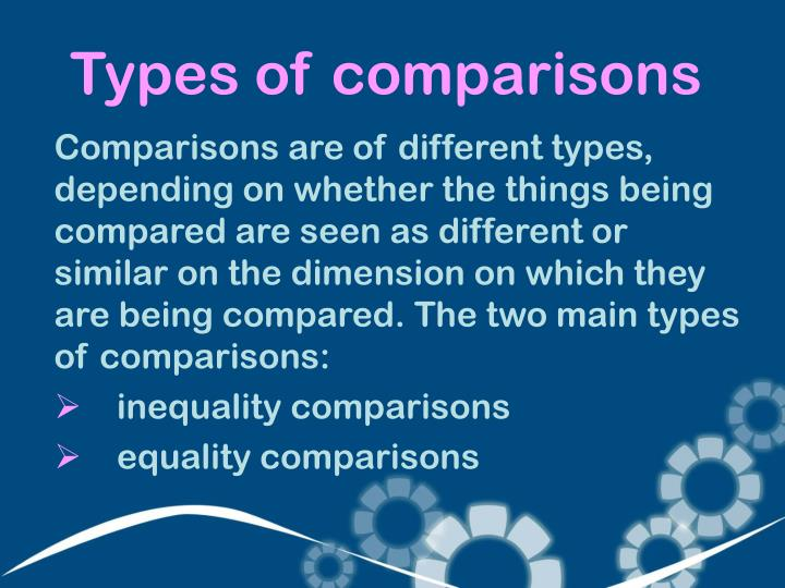 Types of comp