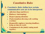 constitutive rules