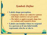 symbols define