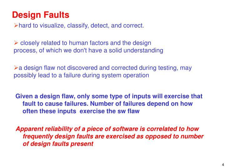 Design Faults