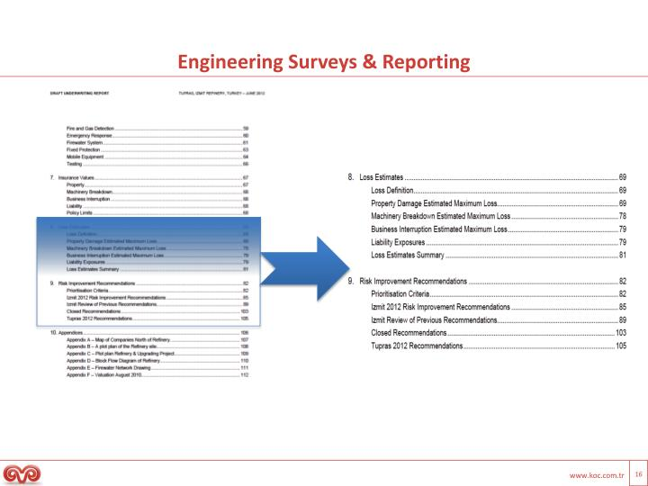 Engineering Surveys & Reporting