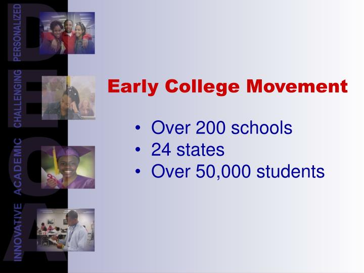 Early College Movement