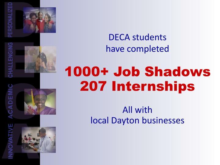 DECA students