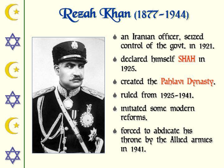 Rezah Khan
