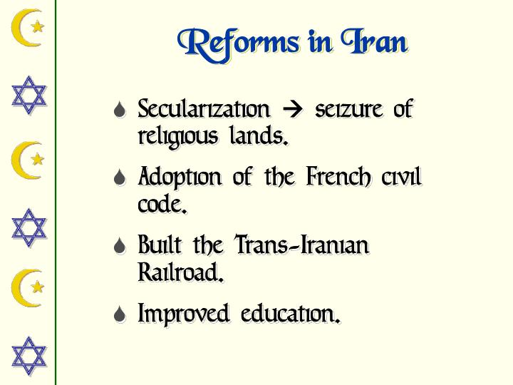 Reforms in Iran