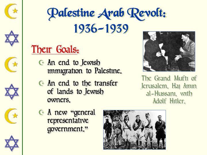 Palestine Arab Revolt:
