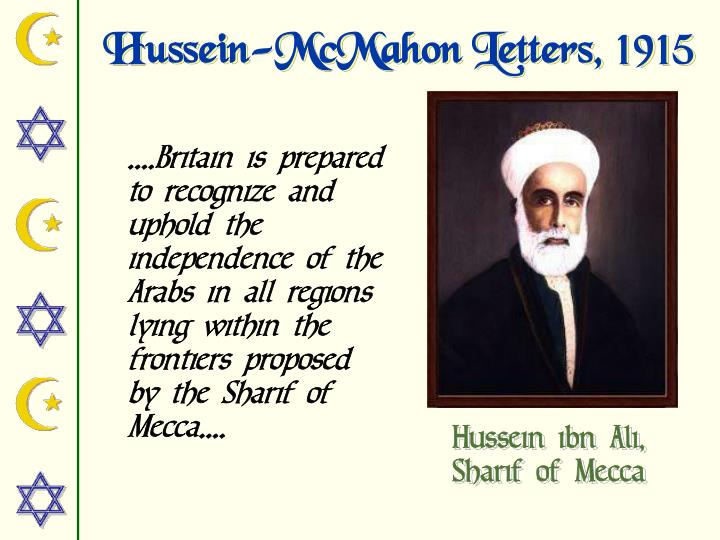 Hussein-McMahon Letters, 1915