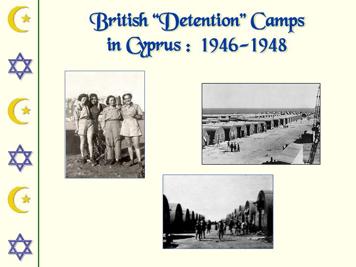 "British ""Detention"" Camps"