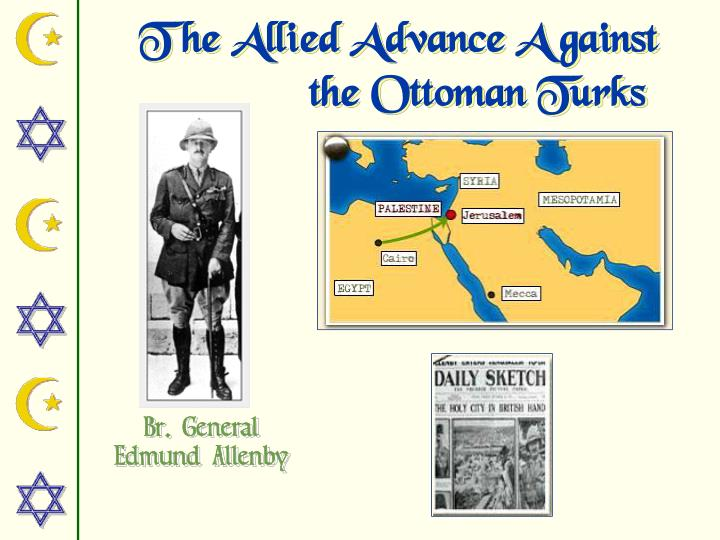 The Allied Advance Against