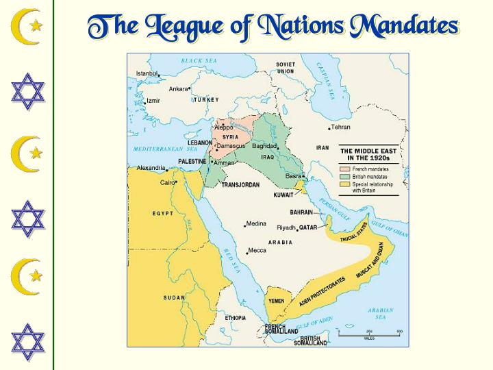 The League of Nations Mandates