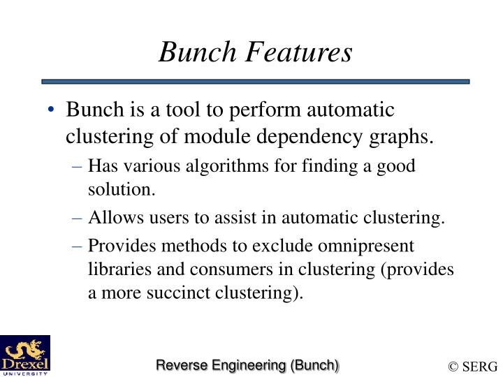 Bunch Features