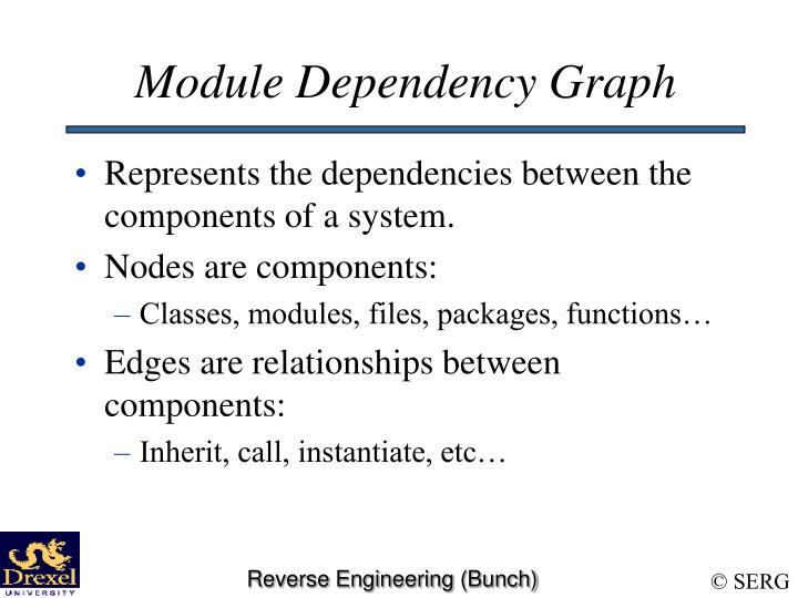 Module Dependency Graph