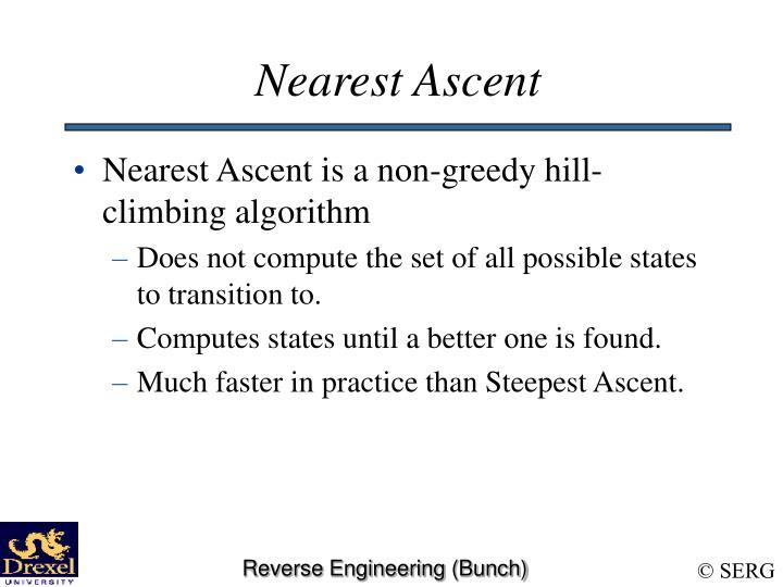 Nearest Ascent
