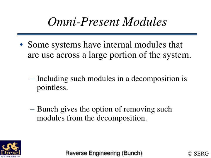 Omni-Present Modules