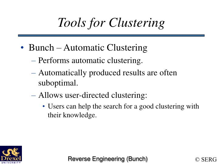 Tools for Clustering