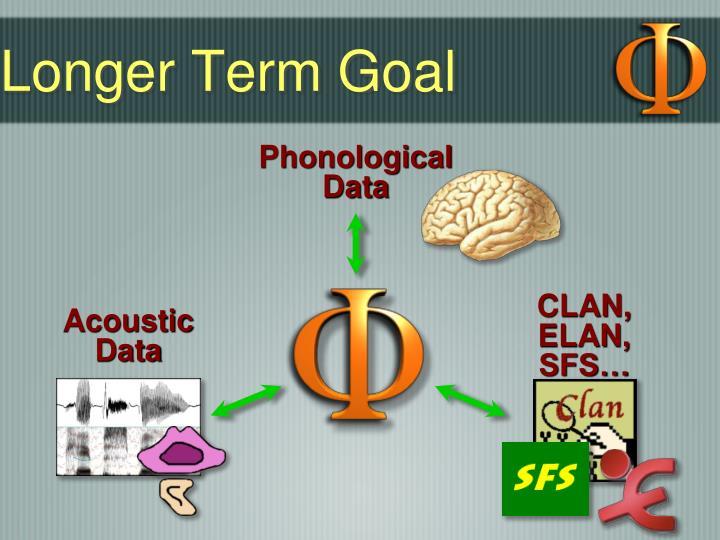 Longer Term Goal