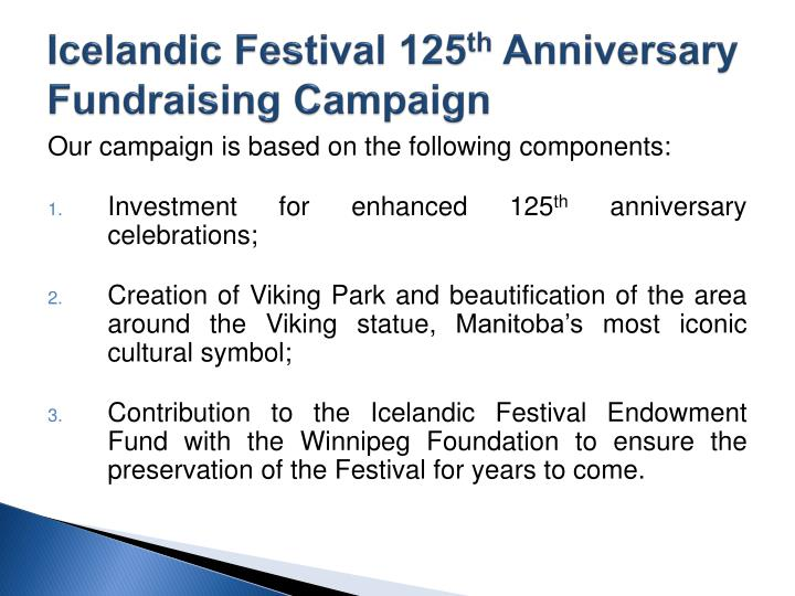 Icelandic Festival 125
