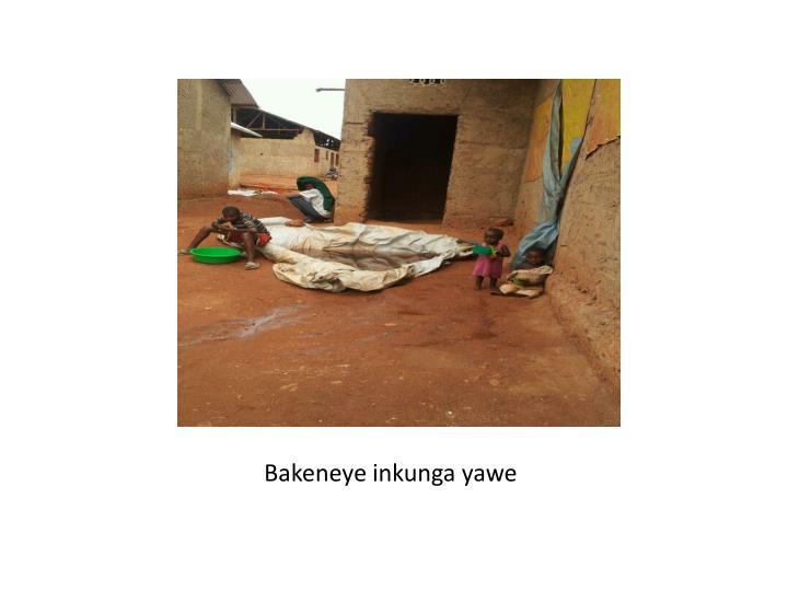 Bakeneye inkunga yawe