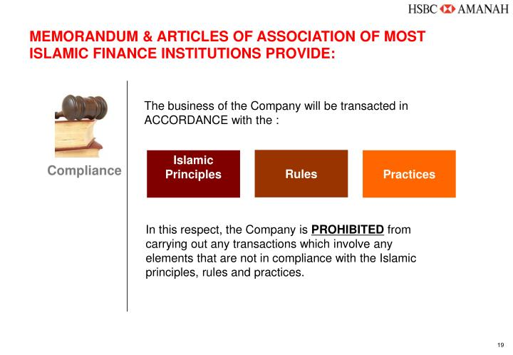 to achieve shariah compliance transactions need