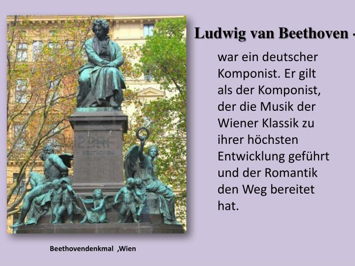 Beethovendenkmal  ,Wien
