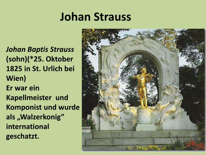 Johan Strauss