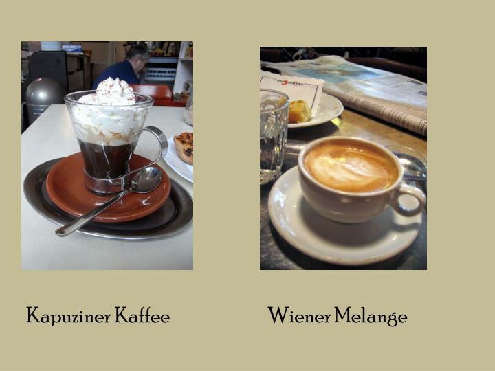 Kapuziner Kaffee