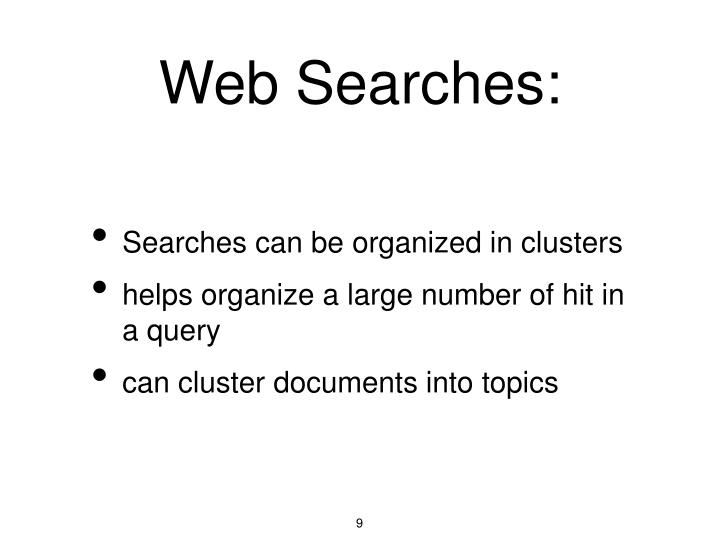 Web Searches:
