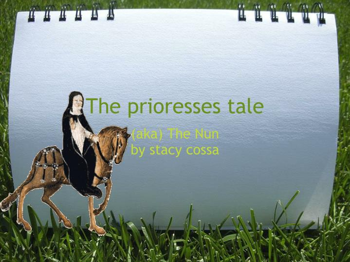 The prioresses tale