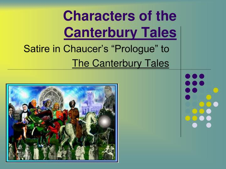 satire in canterbury tales essay Below is an essay on chaucer's use of satire from anti essays, your source for research papers, essays, and term paper examples satire in canterbury tales.