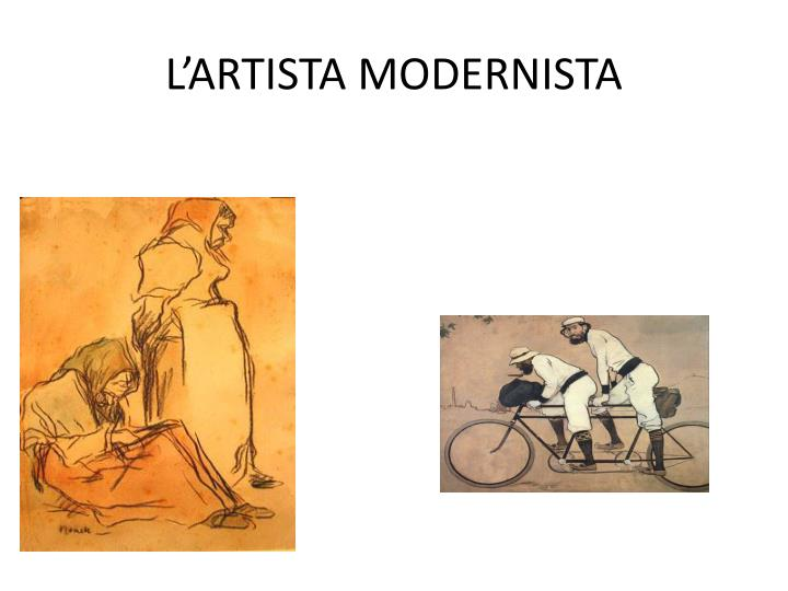 L'ARTISTA MODERNISTA
