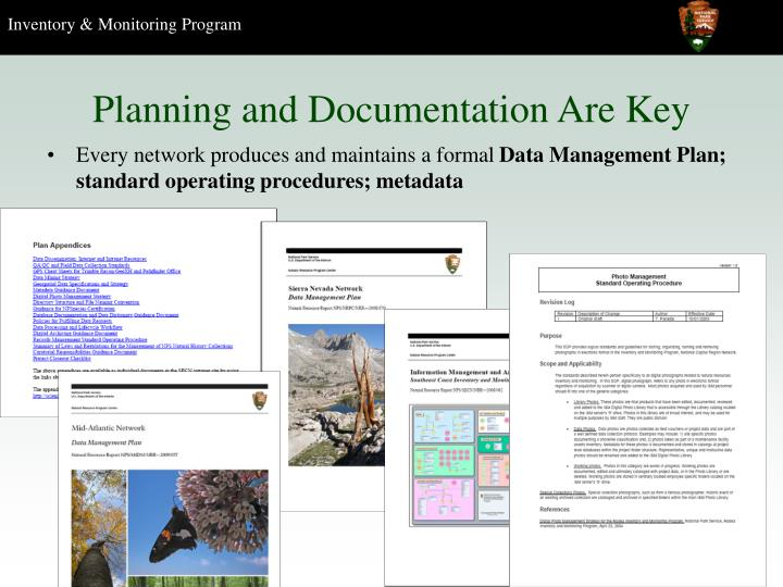 Planning and Documentation Are Key