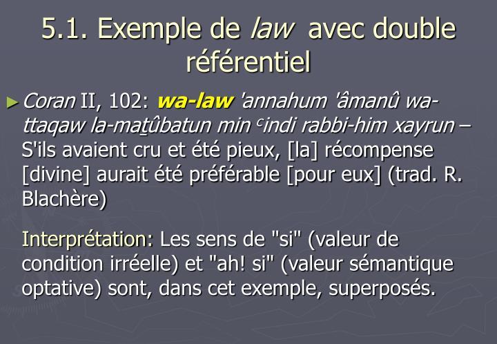 5.1. Exemple de