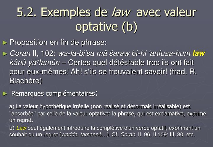 5.2. Exemples de