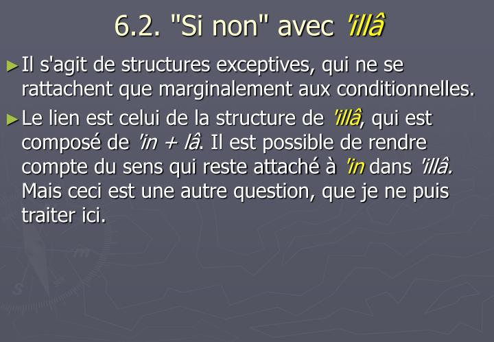 """6.2. """"Si non"""" avec"""
