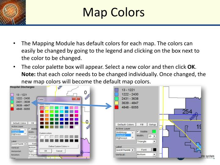 Map Colors