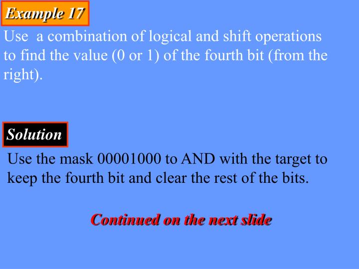 Example 17