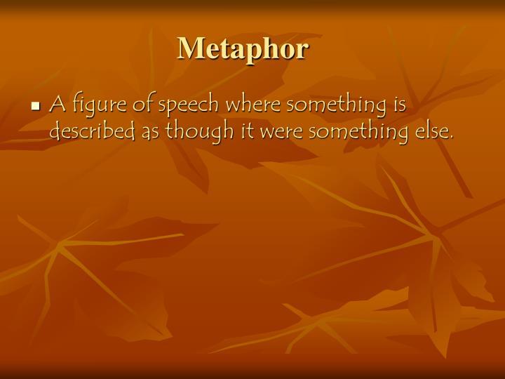 Metaphor