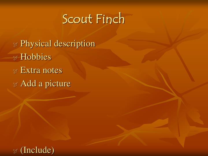 Scout Finch