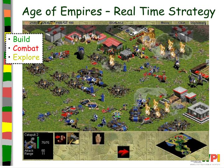 Age of empires real time strategy