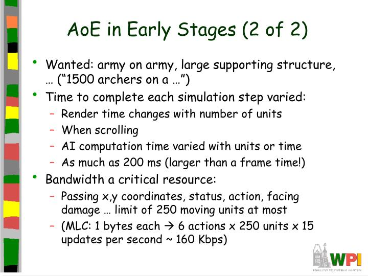 AoE in Early Stages (2 of 2)