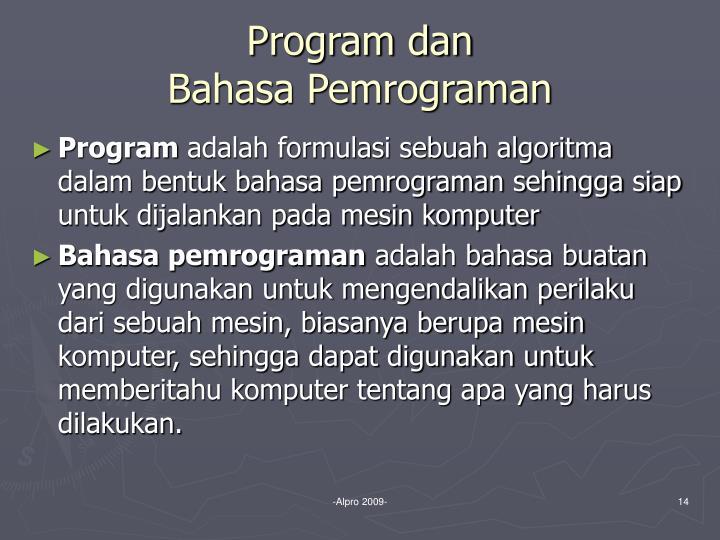 Program dan