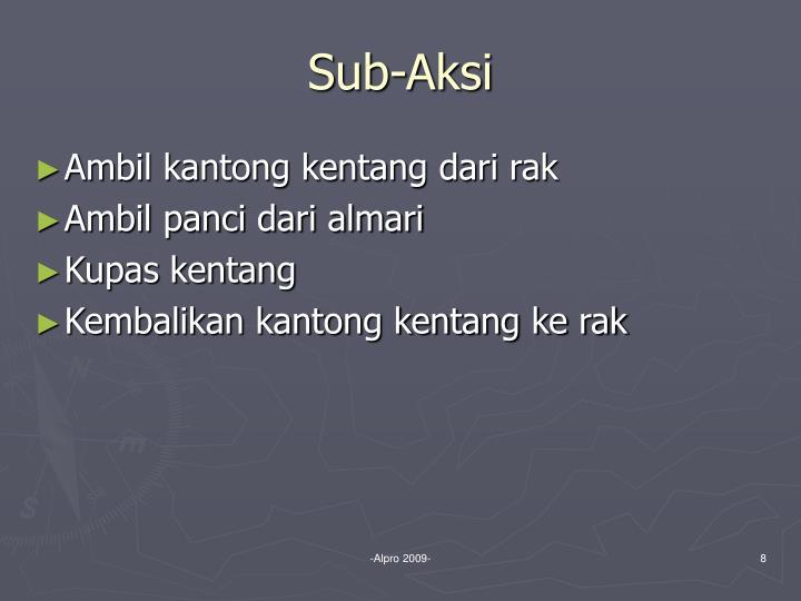 Sub-Aksi